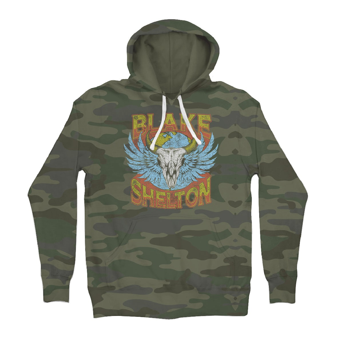 Camo Hoodie Friends Blake Shelton Friends And Heroes Camo Pullover Hoodie