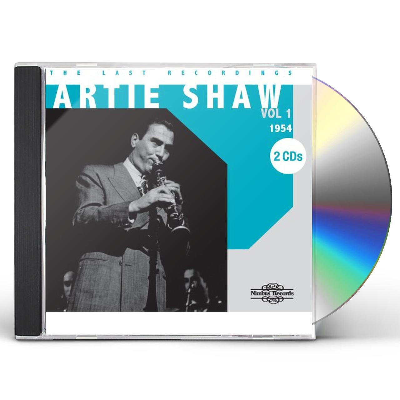 Artie Shaw Yesterdays Artie Shaw Last Recordings 1 1954 Cd