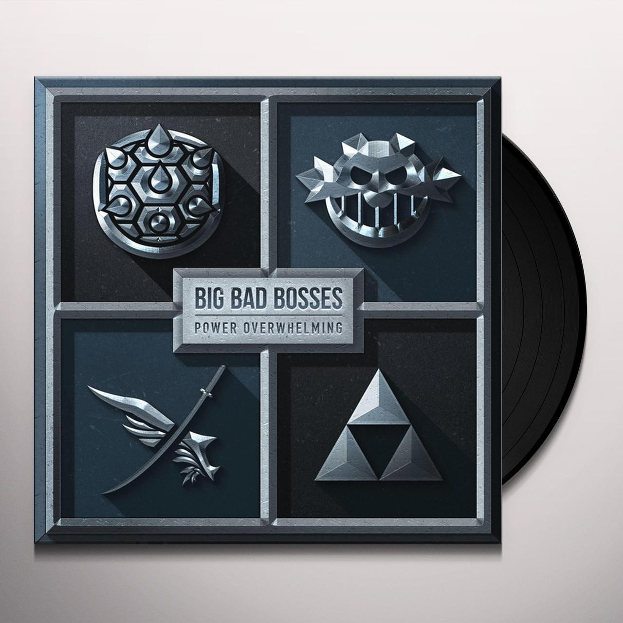 Vinylboden Bad Big Bad Bosses Power Overwhelming Vinyl Record