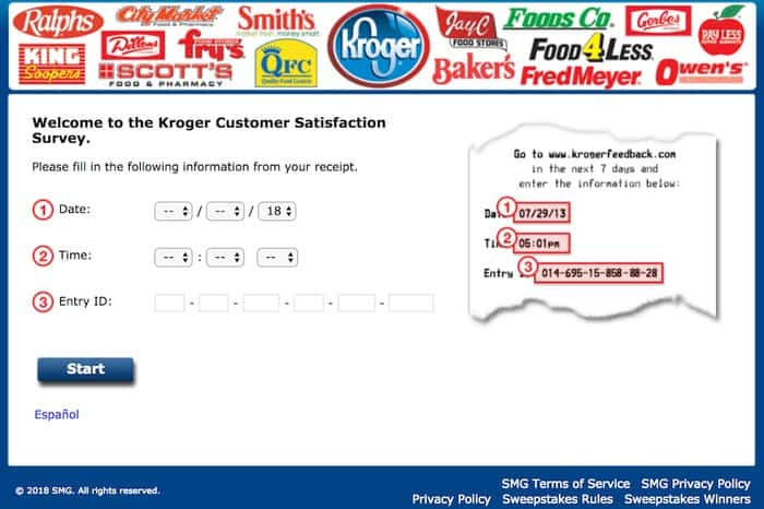 KrogerFeedback Customer Satisfaction Survey 2019 - MerchDope