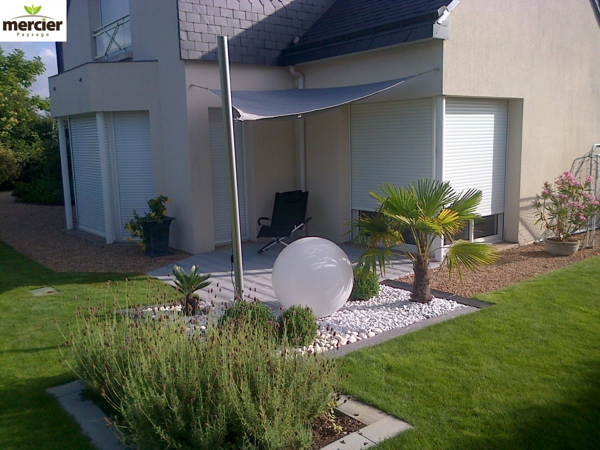 Amenagement Terrasse Ombre Eclairage And Ombrage Mercier Paysage Paysagiste