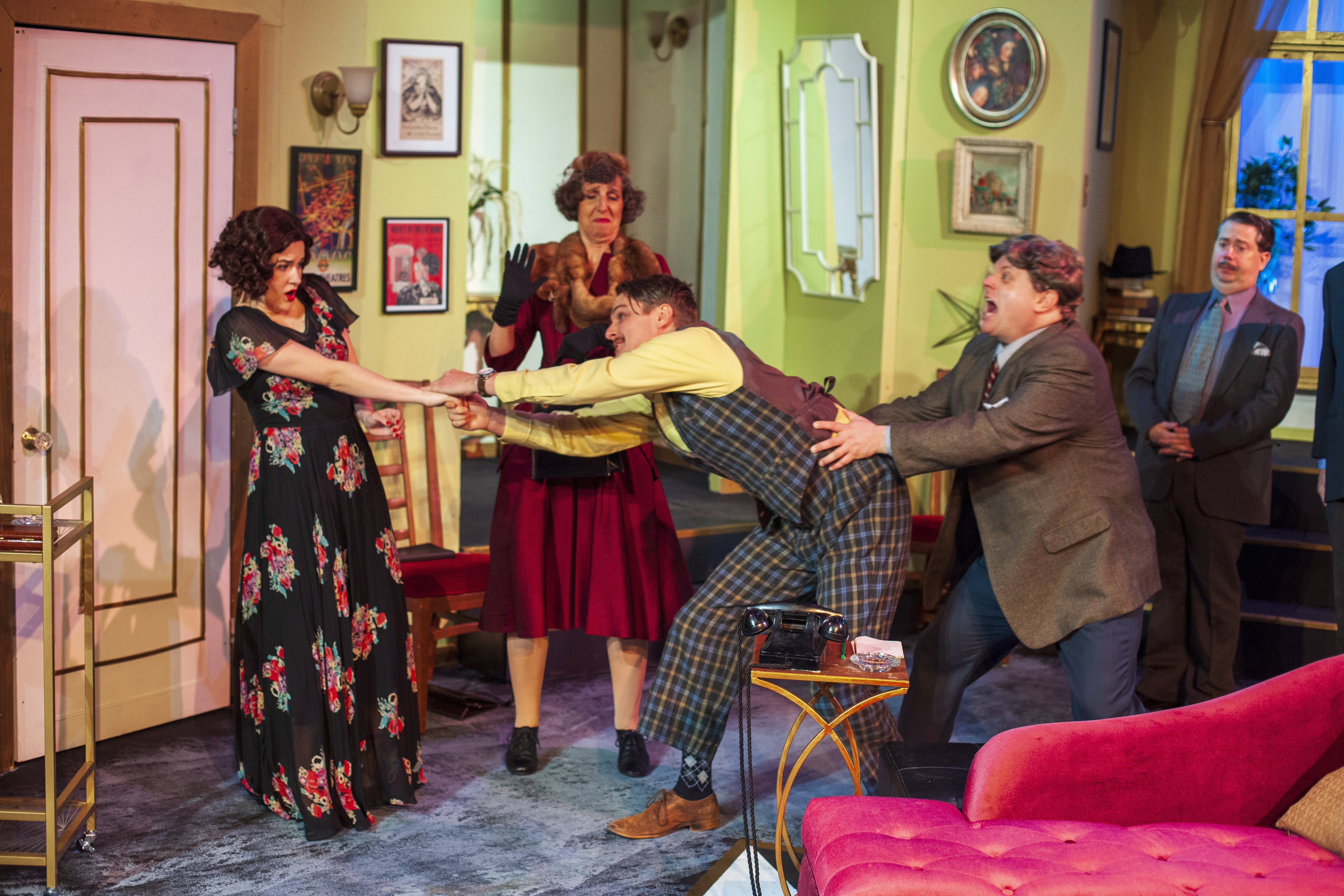 Spot Deco Noel Theater Review Coward S Present Laughter Opens At Pear Theatre