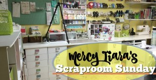 A Silly Scraproom Tidy Video