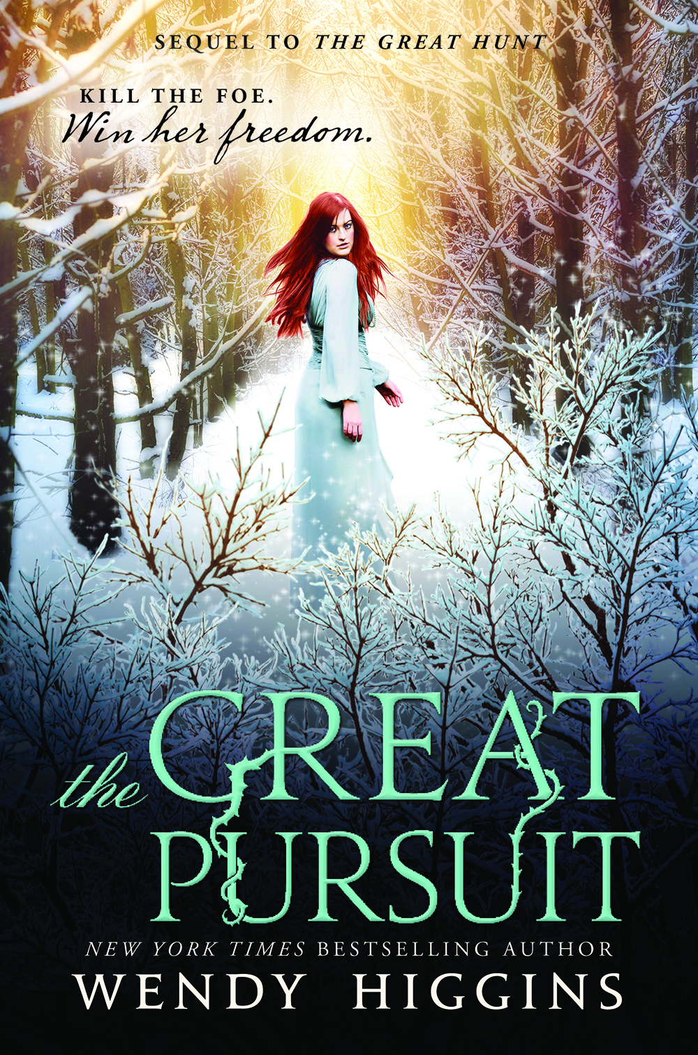 Cover Reveal: The Great Pursuit by Wendy Higgins (+ Countdown)