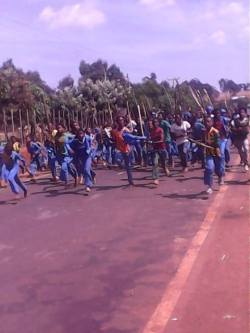 Renewed and widespread protests underway in Oromia region of Ethiopia this week