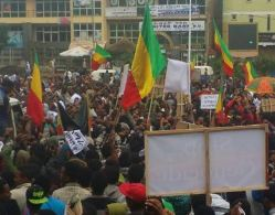 Security forces unable to prevent a huge protest in Gondar, Ethiopia