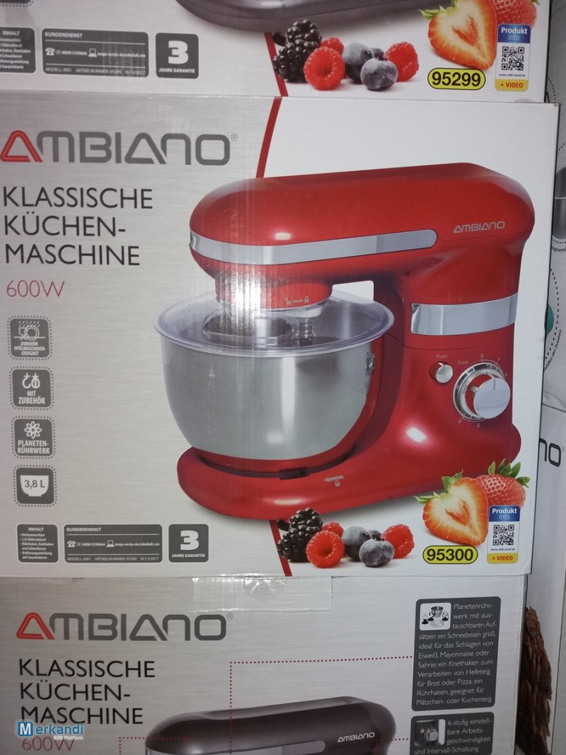 Klassische Küchenmaschine Ambiano Food Processor With Ambiano Aldi Bowl Small Appliances