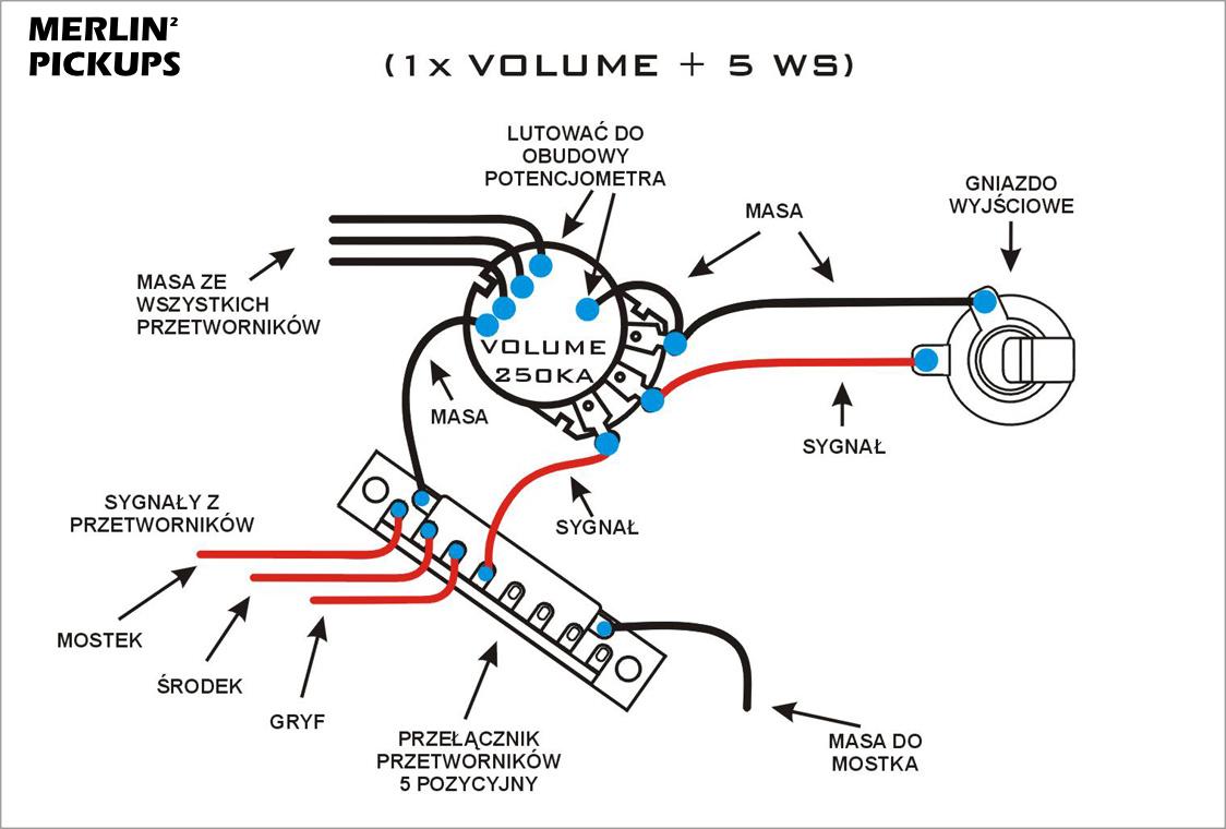 wilkinson humbucker wiring diagram
