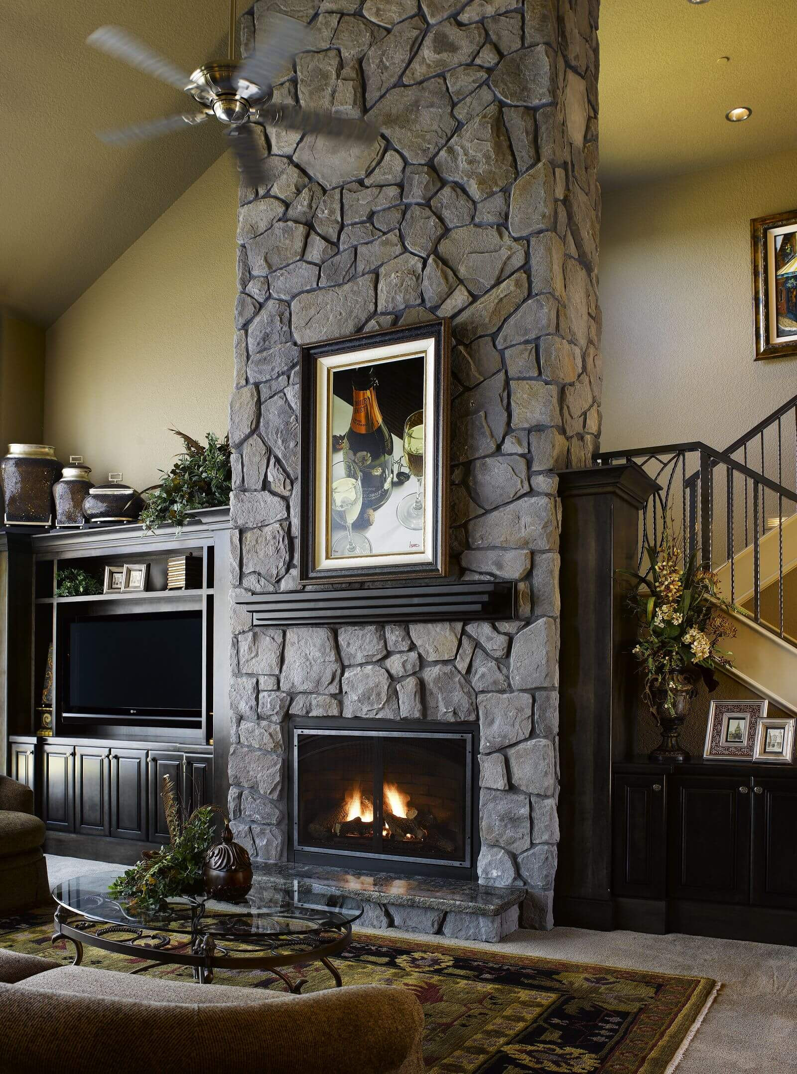Eldorado Stone Veneer Fireplace Today Show Features Eldorado Stone Meredith Vieira And George