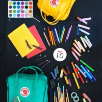 Our Top 10 Favorite Art Supplies with Fjällräven!