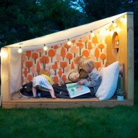 An Outdoor Book Nook with Pottery Barn Kids!