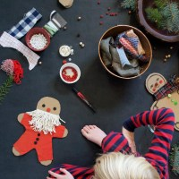 DIY Cardboard Gingerbread Men