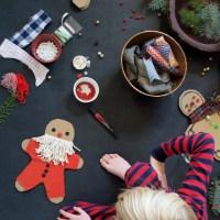 DIY Cardboard Gingerbread Men
