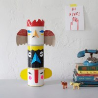 Make a Set of Totem Pole Banks from Cans and Duct Tape