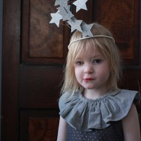 Sparkly Star New Years Crown