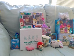 Mermaidbox monthly subscription service will be fun for the whole family with luxe gifts for Mom's and fun for kids.