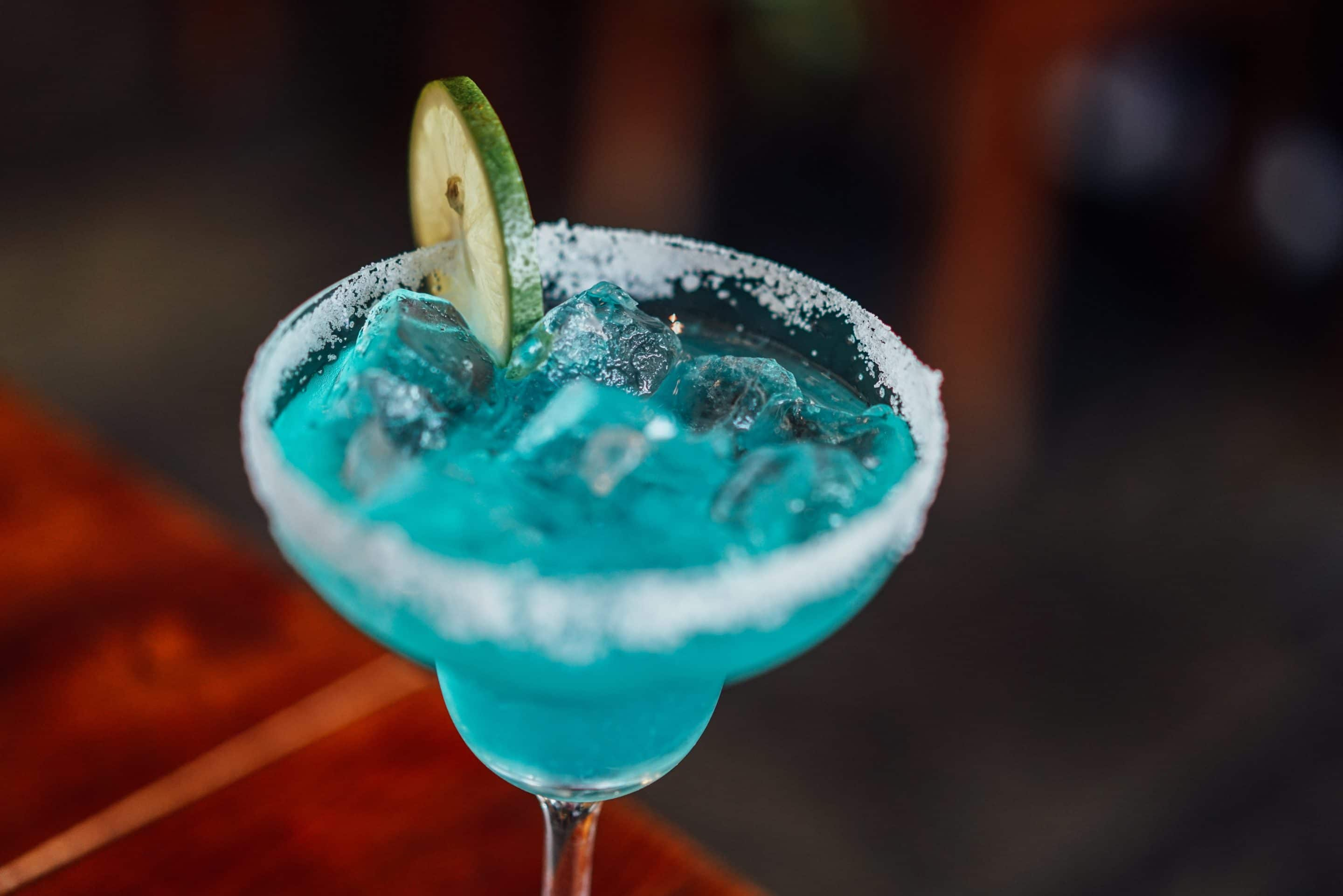 Blue Curacao Cocktail Alkoholfrei Blue Moon And Stars Margarita Mocktail Non Alcoholic