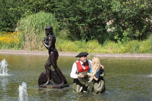 Ama du Parc mermaid sculpture