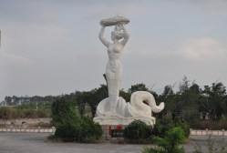 Shekou Mermaid Sculpture in Shenzhen