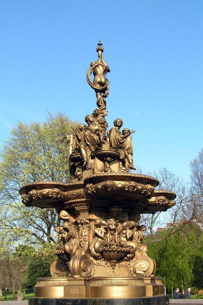 Ross Fountain in Edinborough