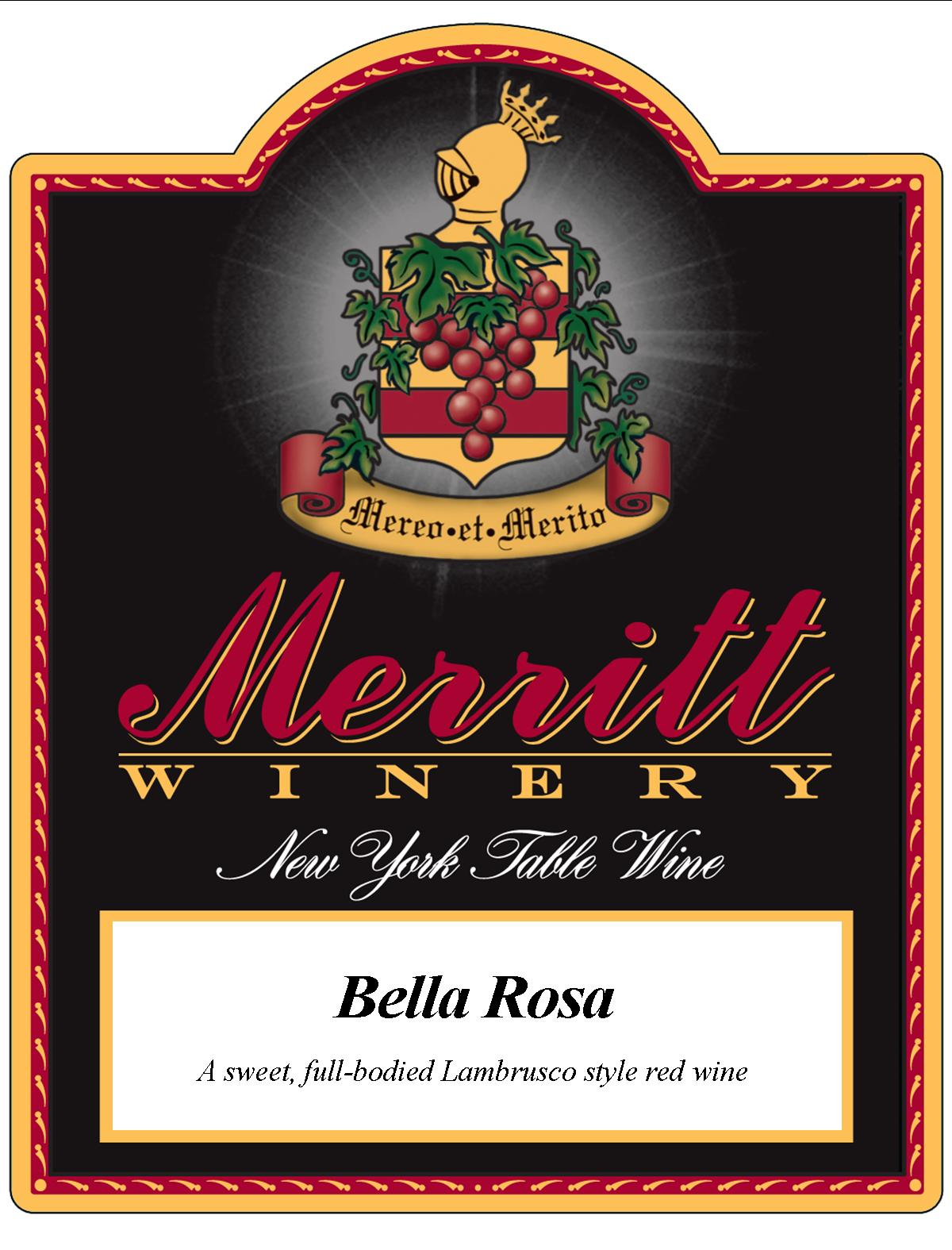 Bella Rosa Merritt Estate Winery Save Water Drink Merritt Wines