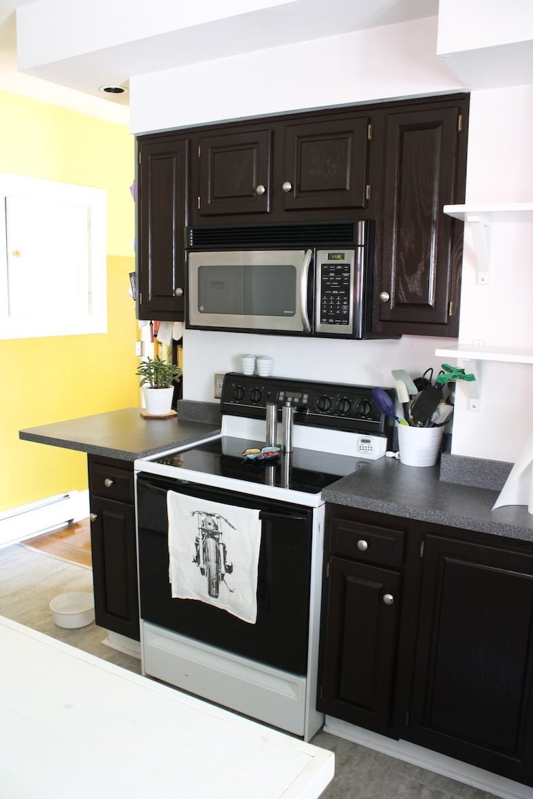 refinish oak cabinets with stain gel stain kitchen cabinets Wow talk about a different kitchen
