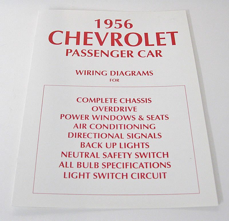 1956 Chevy Wiring Diagram Merv\u0027s Classic Chevy Parts