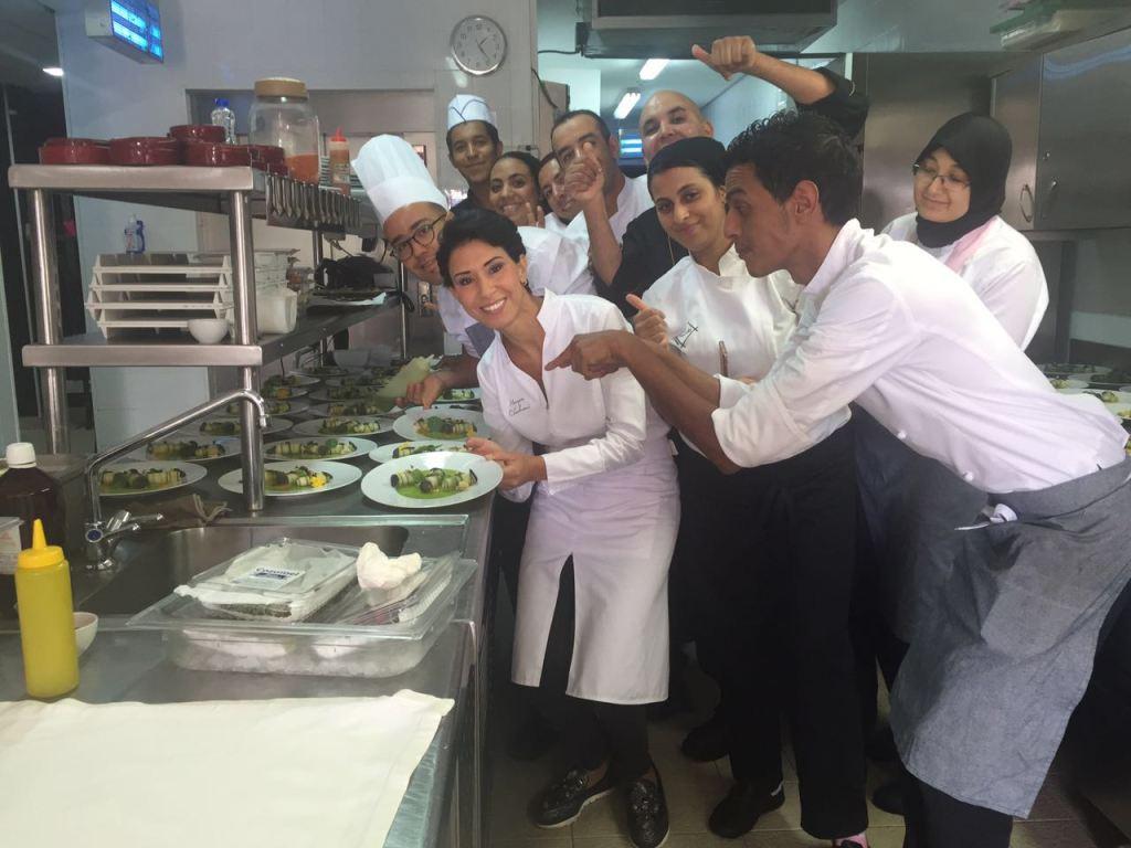 Déjeuner au Mes'lalla au Mandarin Oriental Marrakech pour «Pure Life expériences».