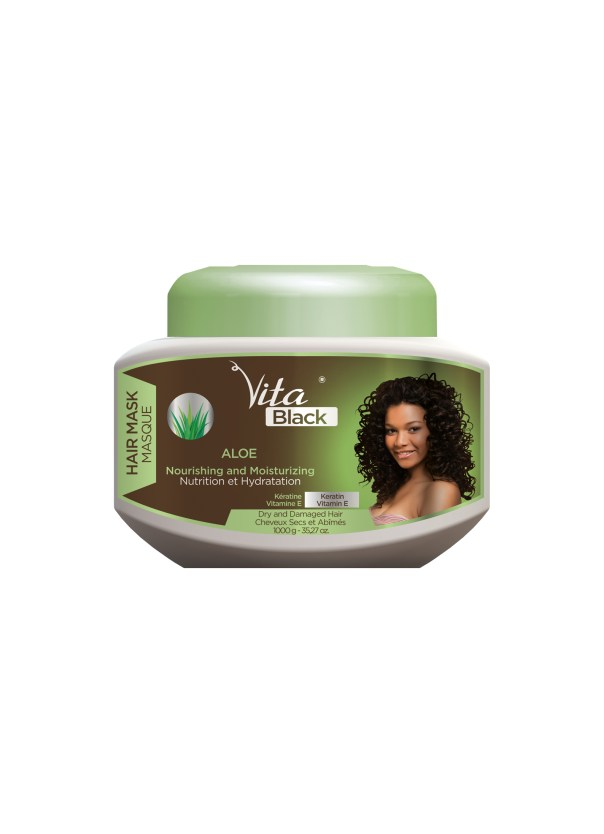 Masque de Nutrition Aloe (1000g) - VITA BLACK Image