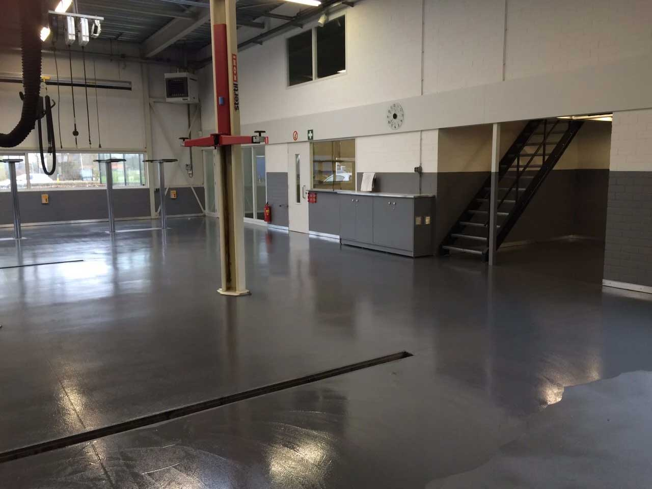 Epoxy Vloercoating Garage Need Workshop Or Garage Floor Or Wall Coatings Mesa Coatings