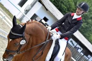Stefania Marian si calul Lavi