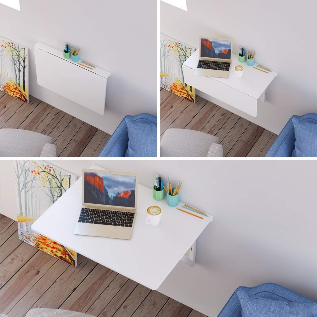Mesas Plegables De Pared 𝗠𝗲𝘀𝗮 𝗽𝗹𝗲𝗴𝗮𝗯𝗹𝗲 𝗱𝗲 𝗽𝗮𝗿𝗲𝗱 Una Idea Innovadora