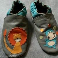 Ses nouveaux chaussons de motricité