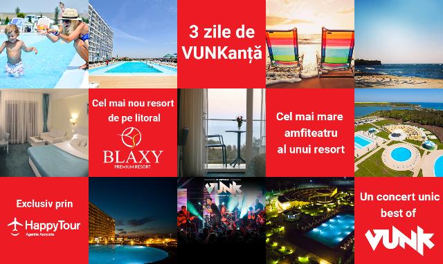 """Concert """"Best Off Vunk"""" la Blaxy Resort"""