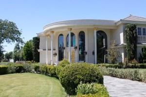 The palatial home of Wayne Newton on the grounds of Casa de Shenandoah.