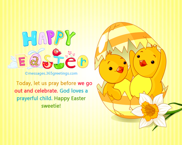 Happy Easter Wishes and Messages - 365greetings - sample easter postcard template