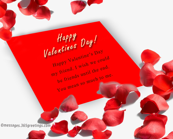 Valentines Day Messages for Friends - 365greetings - valentines cards words