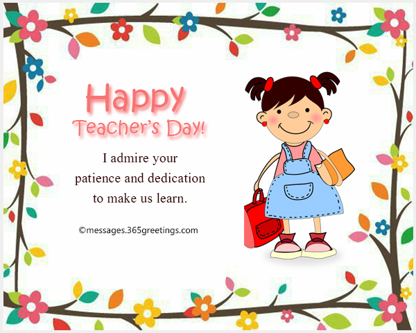 Teacher39s Day Messages 365greetingscom