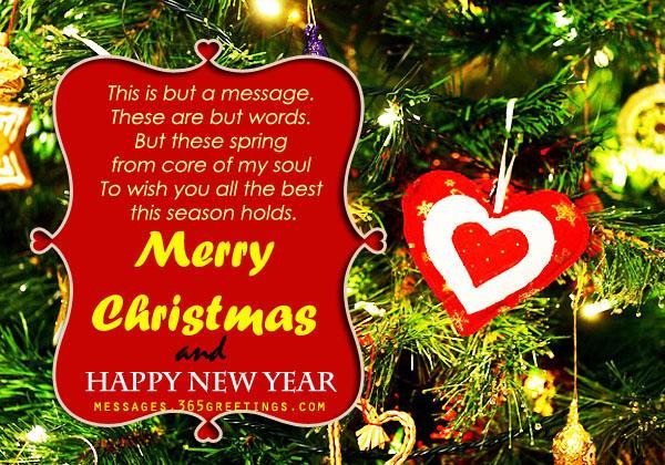 Christmas Messages for Girlfriend - 365greetings