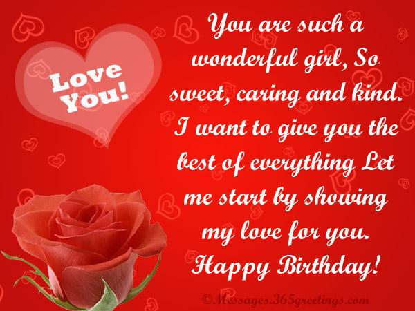 Love Birthday Messages - 365greetings - sample happy birthday email