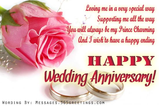 Anniversary Wishes For Husband 365greetingscom
