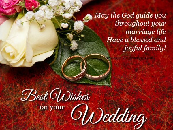 Wedding Wishes And Messages - 365greetings