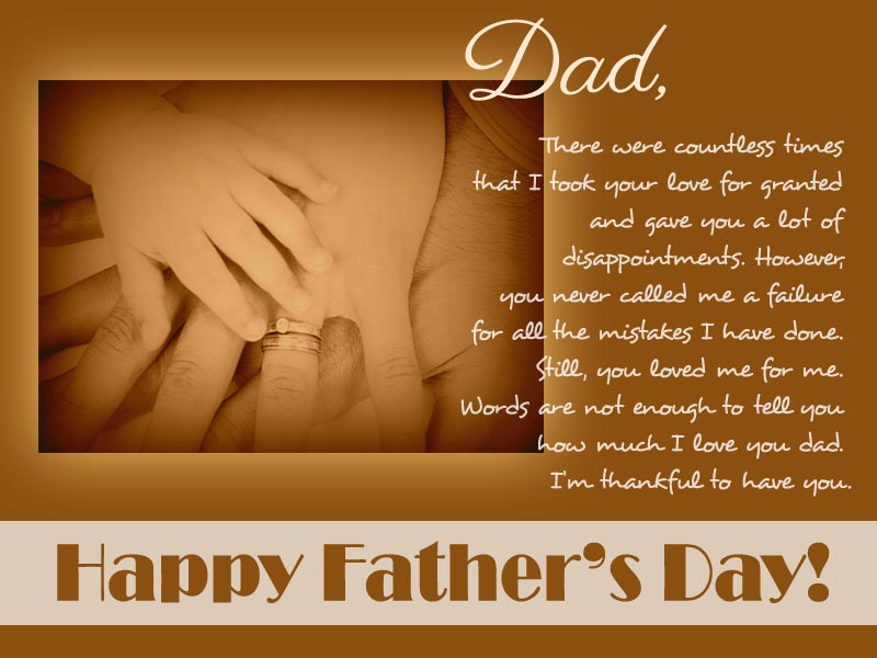 Happy Fathers Day Messages, Greetings and Wishes - 365greetings
