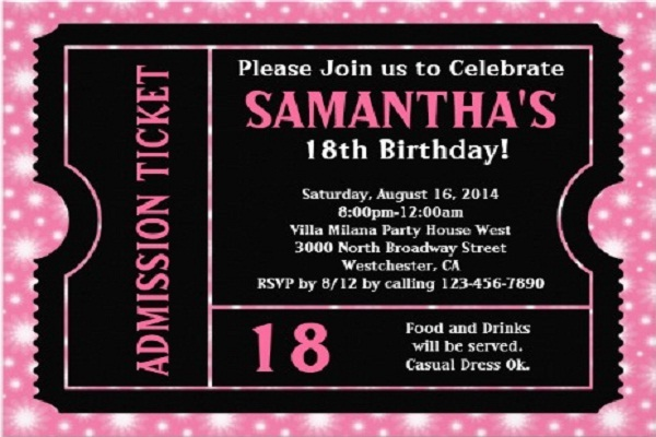 Decorating Ideas > 18thbirthdayinvitations Holiday Messages, Greetings And  ~ 011157_Birthday Party Ideas Turning 18