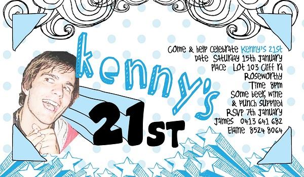 21st birthday-party-invitations