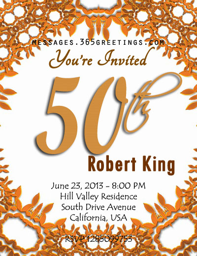 50th-birthday-invitation-template - 365greetings - invitation birthday template
