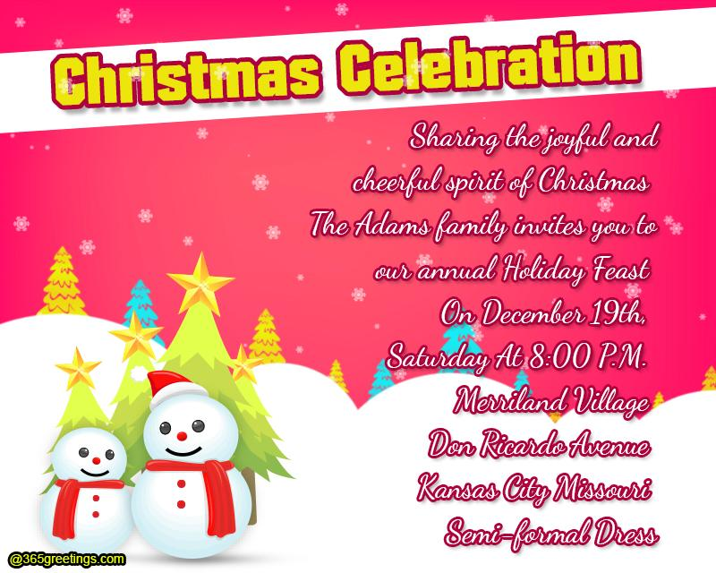 christmas-party-invitation-template - 365greetings - christmas party tickets templates
