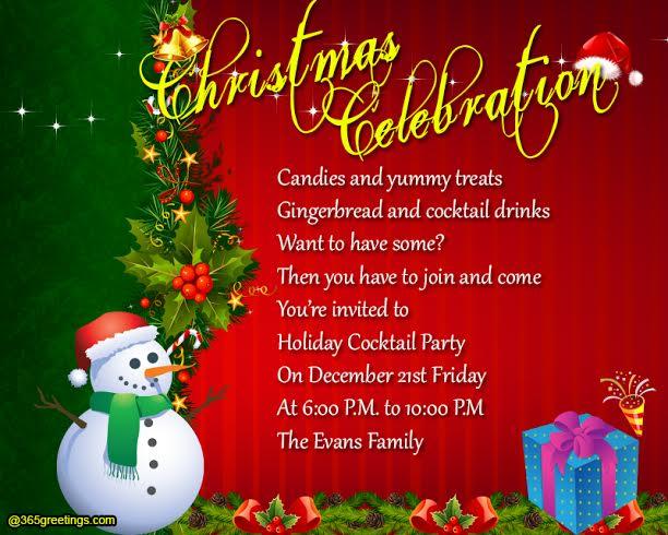 christmas-party-invitation-wording - 365greetings