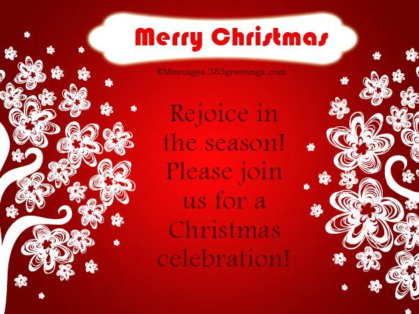christmas invitation rhymes