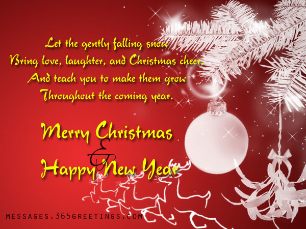 Top 100 Christmas Messages, Wishes And Greetings - 365greetings
